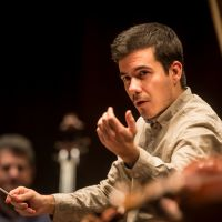 Nuno Coelho, ensayando